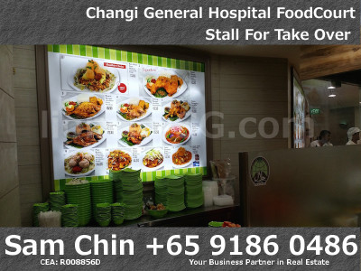 Kopitam Food Court – Changi General Hospital -Food Sign
