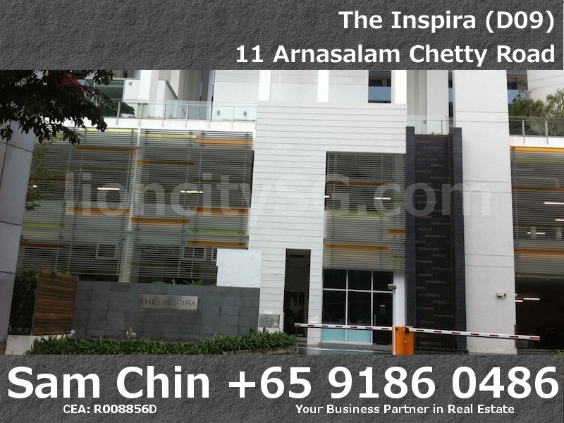 The Inspria – Main Entrance