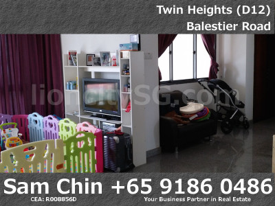 Twin Heights – Stack 02 – Living Room