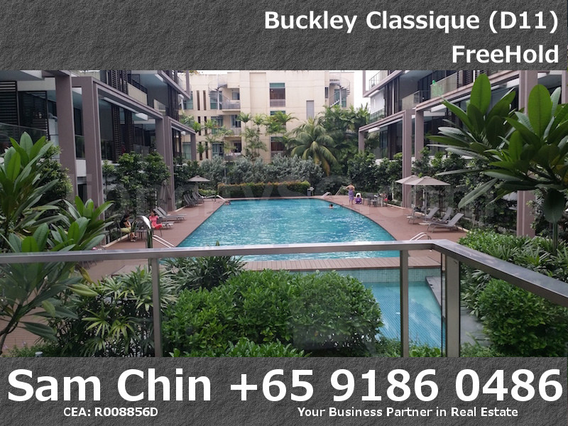Buckley Classique – Facilities – ClubHouse facing Lap Pool Facing