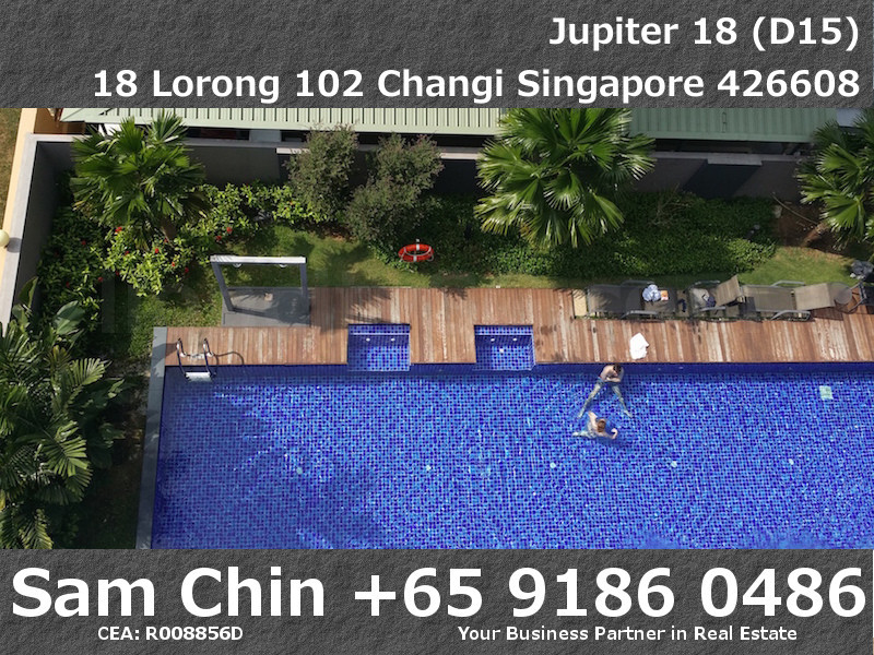 Jupiter 18 – S04 – Level 5 – Balcony – View – Lap Pool