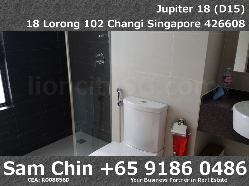 Jupiter 18 – S04 – Level 6 – Master Bathroom