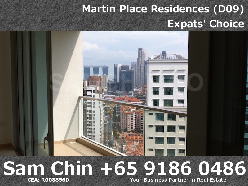 Martin Place Residences – S06 – VIew-Balcony-MBS