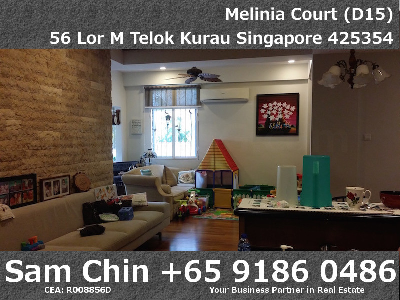 Melinia Court – 3 Bedroom – Kitchen and Living