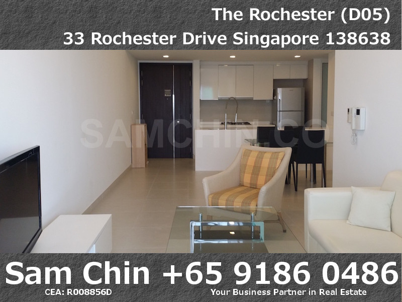The Rochester – S04 – H – Living and Dry Kitchen
