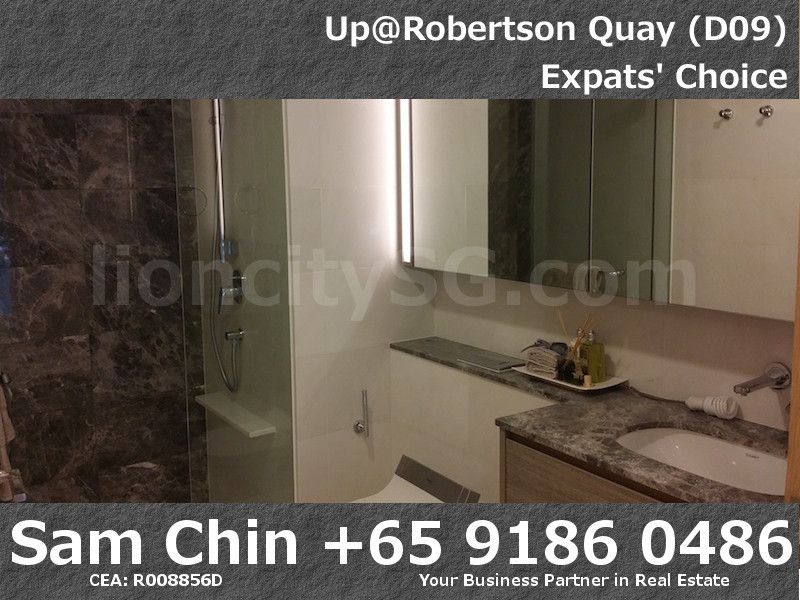 UpAtRobertsonQuay – 1 Bedroom – S6 – Bathroom