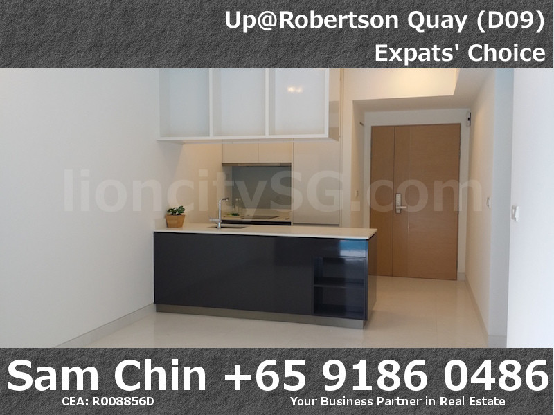 UpAtRobertsonQuay – 1 Bedroom – S6 – Living and Kitchen – 2