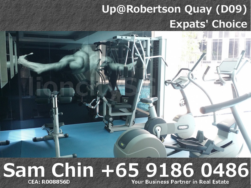 UpAtRobertsonQuay – Facilities – L4 – Gym
