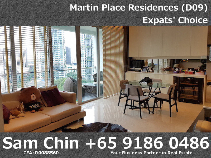 Martin Place Residences – Designer 2 Bedroom – S06 – Living and Dining – 2