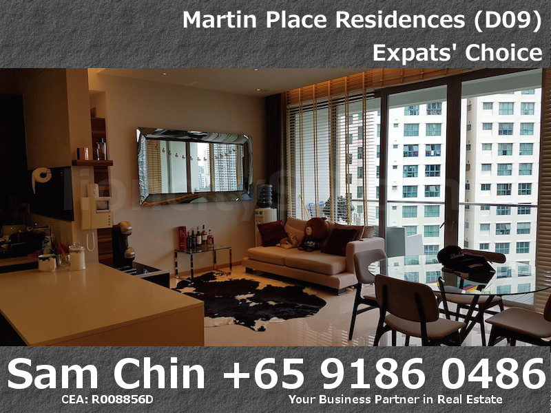 Martin Place Residences – Designer 2 Bedroom – S06 – Living and Dining