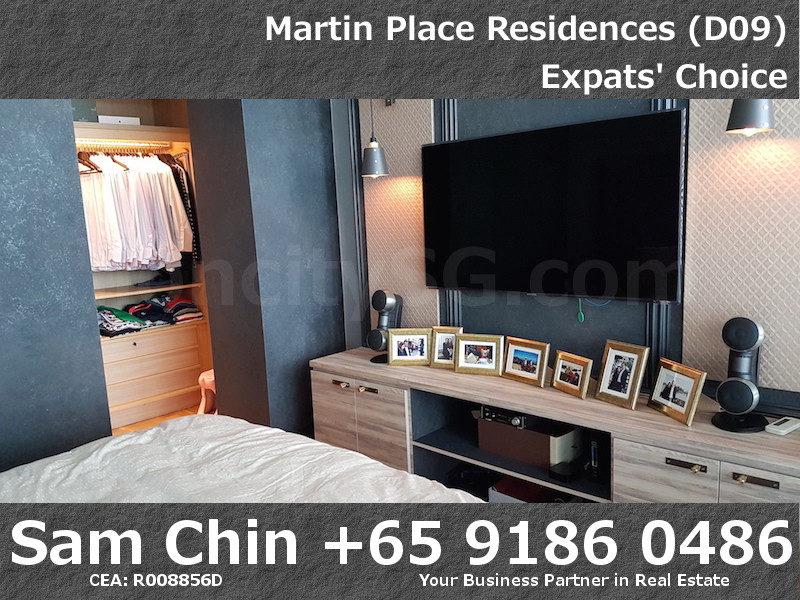 Martin Place Residences – Designer 2 Bedroom – S06 – Master Bedroom 2