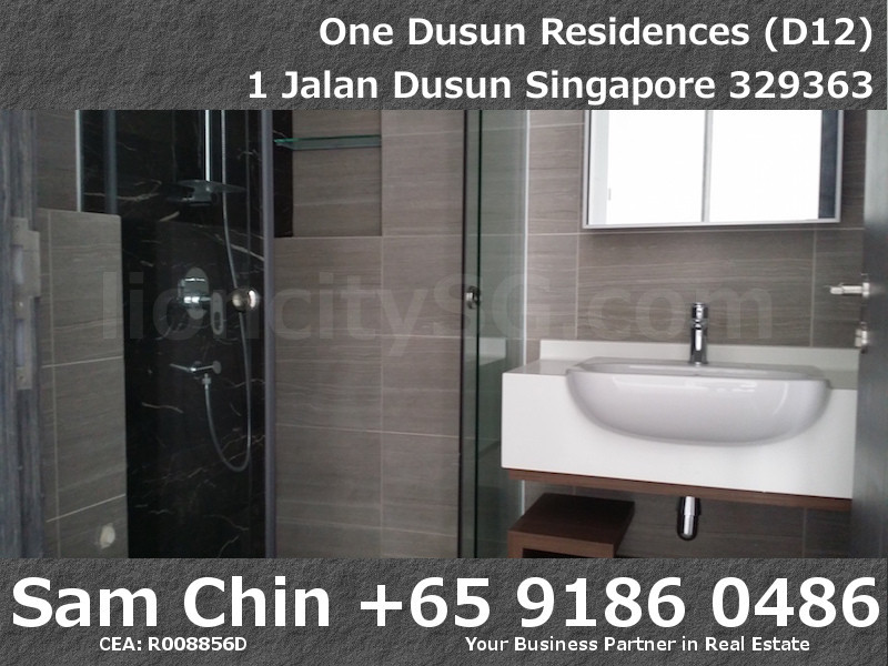 One Dusun Residences – 2 Bedroom – S7 – Common Bathroom – 2