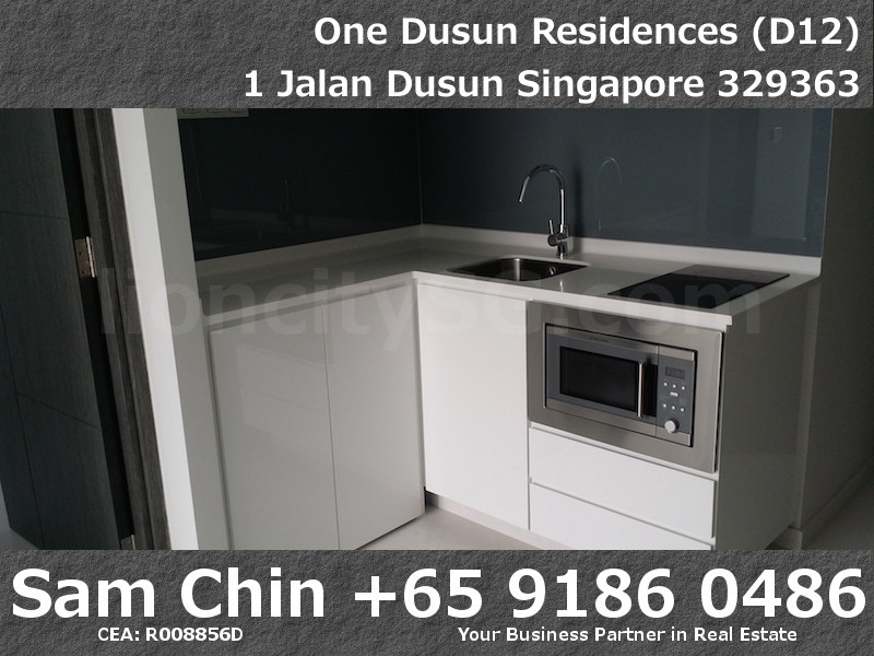 One Dusun Residences – 2 Bedroom – S7 – Kitchen