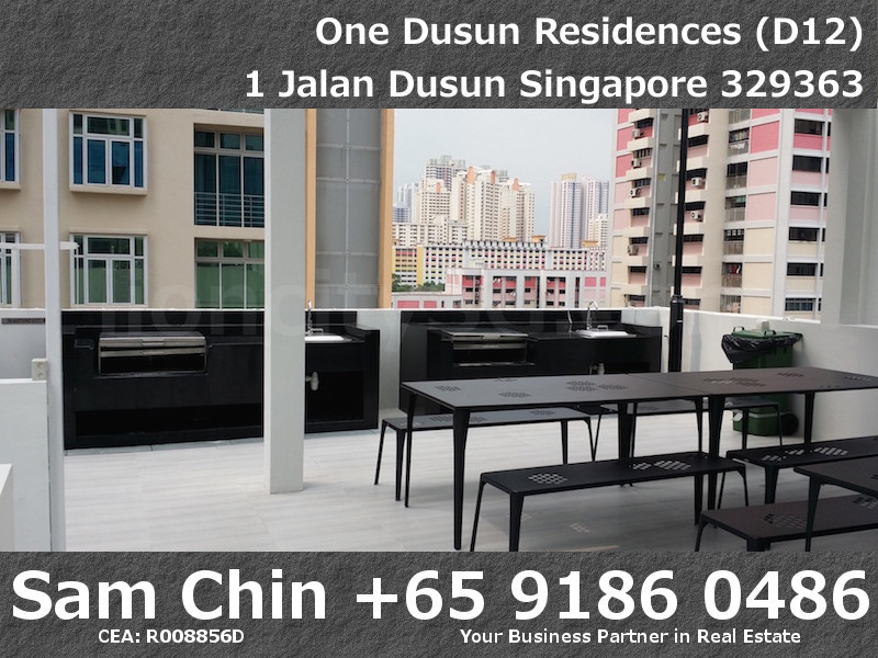 One Dusun Residences – BBQ Area