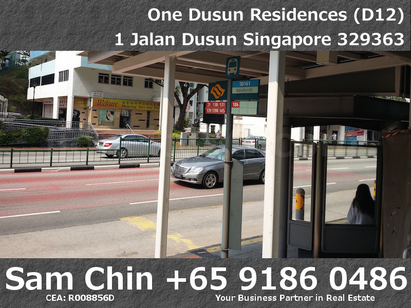 One Dusun Residences – Bus Stop