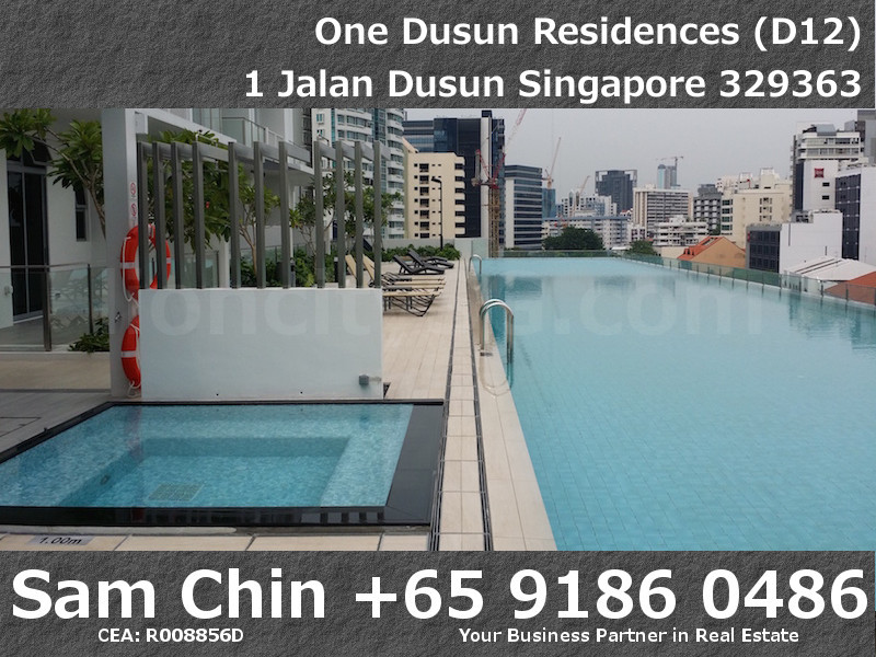 One Dusun Residences – Jacuuzi Pool and Lap Pool