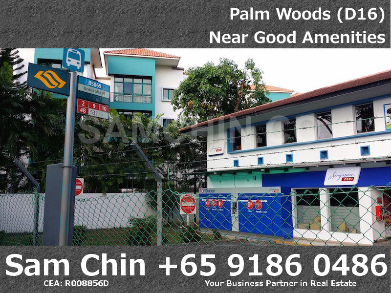 Palmwoods – SingPost and Bus Stop