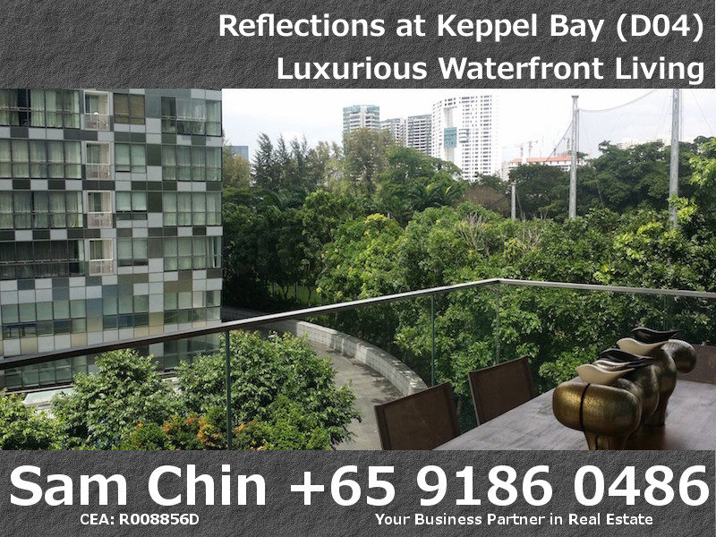 Reflections at Keppel Bay – S48 – VIew from Balcony