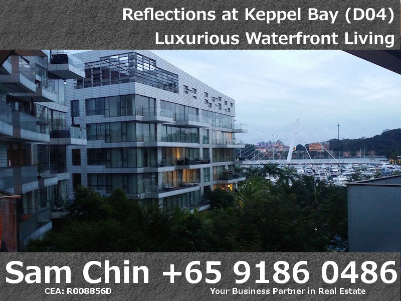 Reflections at Keppel Bay – S48 – View from Lift Lobby