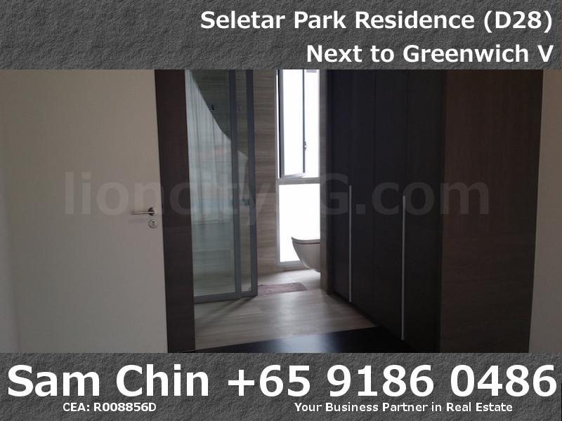 Seletar Park Residence – 2 Bedroom – S37 – Master Bathroom – 1