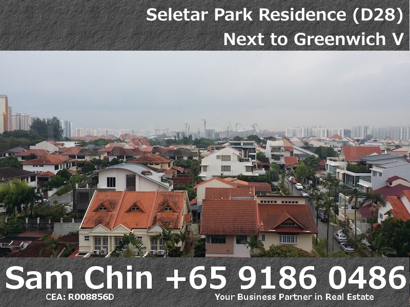 Seletar Park Residence – 2 Bedroom – S37 – Roof Terrence – Open View – 2