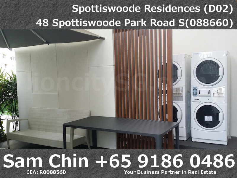 Spottiswoode Residences – Facilities – L2 – Washing Machine