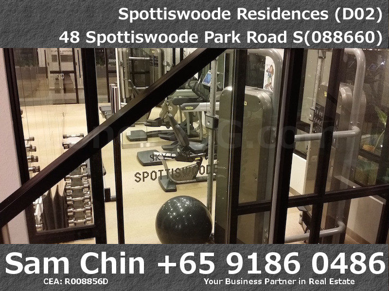 Spottiswoode Residences – Facilities – L22 – Sky Gym – Night