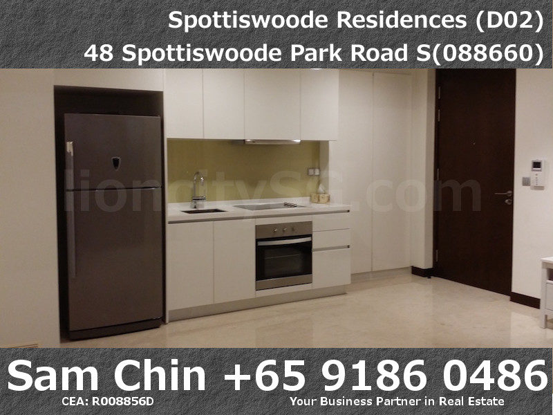 Spottiswoode Residences – S01 – M – Living and Kitchen