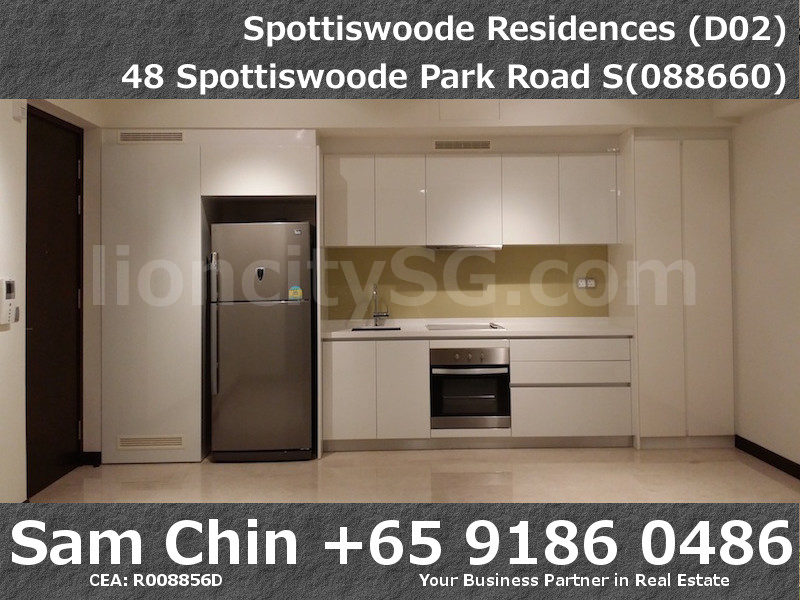 Spottiswoode Residences – S02 – M – Kitchen and Living
