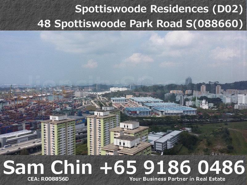 Spottiswoode Residences – S04 – H – VIew – Sentosa