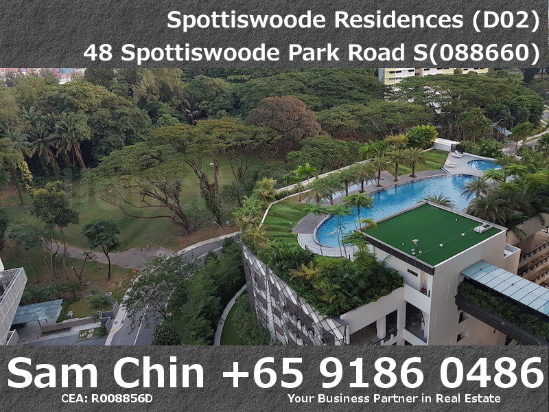 Spottiswoode Residences – S10 – L – Balcony – View – Pool