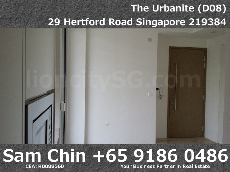 The Urbanite – 1 Bedroom – LIving Room