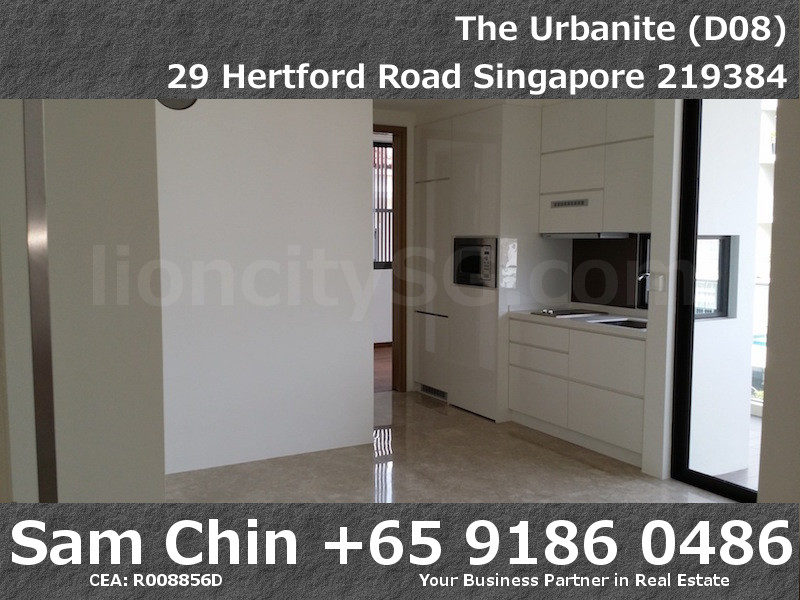 The Urbanite – 1 Bedroom – Living and Kitchen