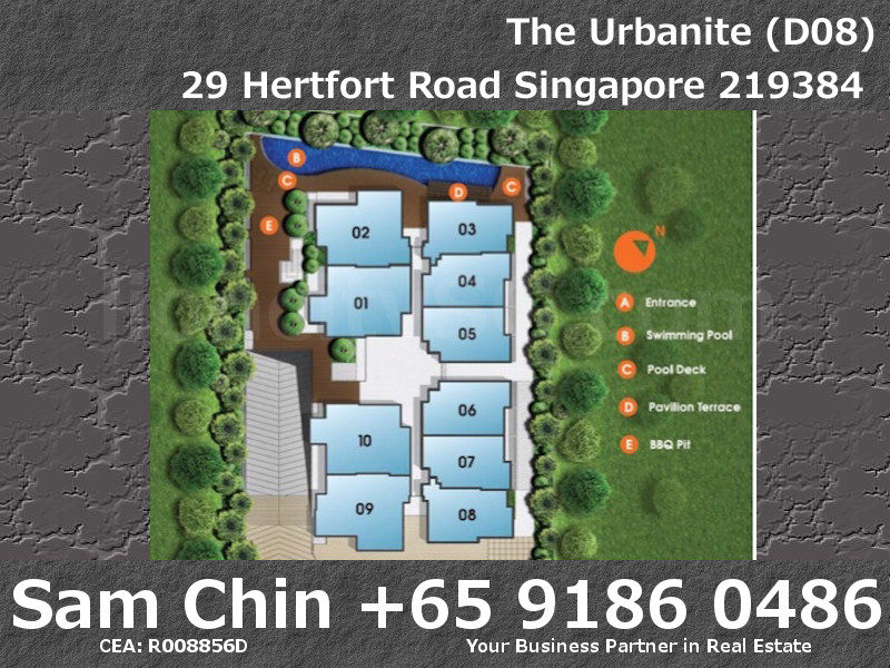 The Urbanite – 1 Bedroom – SiteMap