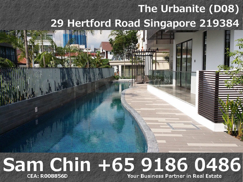The Urbanite – Facilities – L1 – Lap Pool