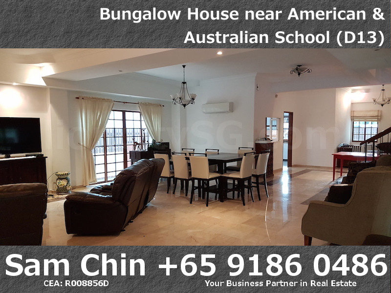 CarMichael Road Bungalow Near American and Australian School – L1 – Living Area – 3