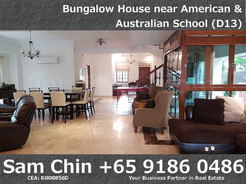 CarMichael Road Bungalow Near American and Australian School – L1 – Living Area – 4