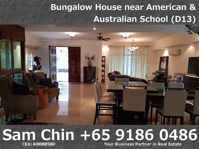 CarMichael Road Bungalow Near American and Australian School – L1 – Living Area – 5