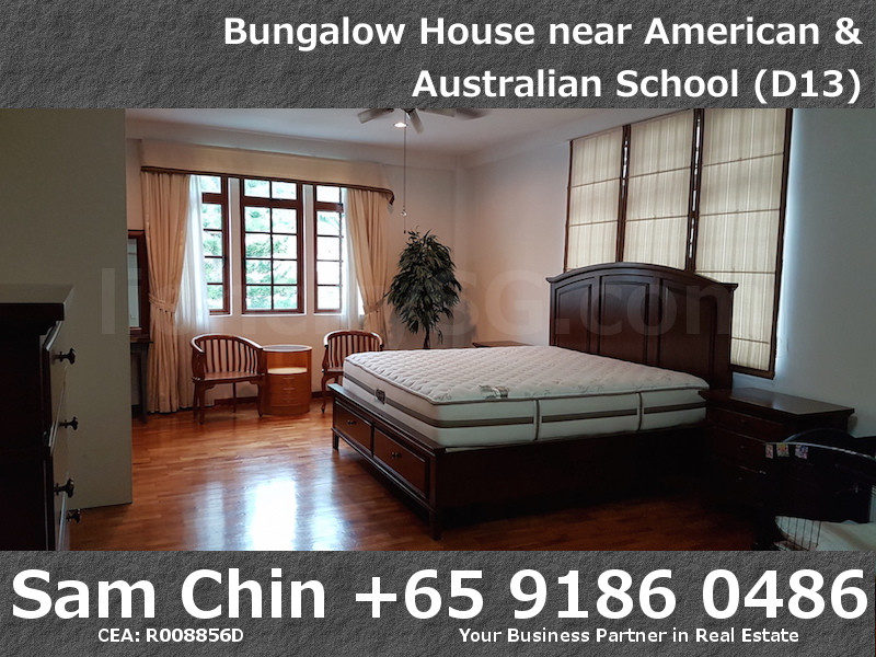 CarMichael Road Bungalow Near American and Australian School – L2 – Master Bedoom – 1