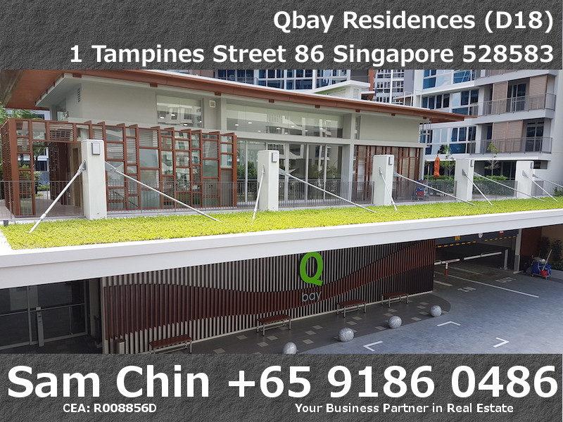 Qbay Residences – Entrance