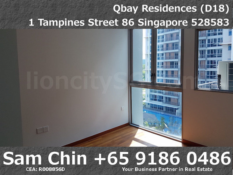 Qbay Residences – 1+Study – S08 – Master Bedroom