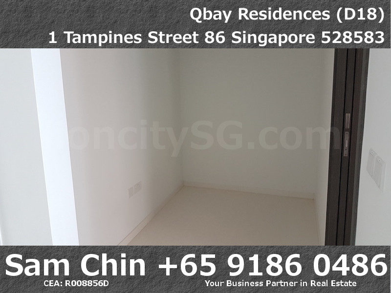 Qbay Residences – 1+Study – S08 – Study Area