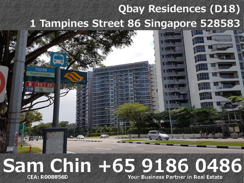 Qbay Residences – Amenities – Bus Stop