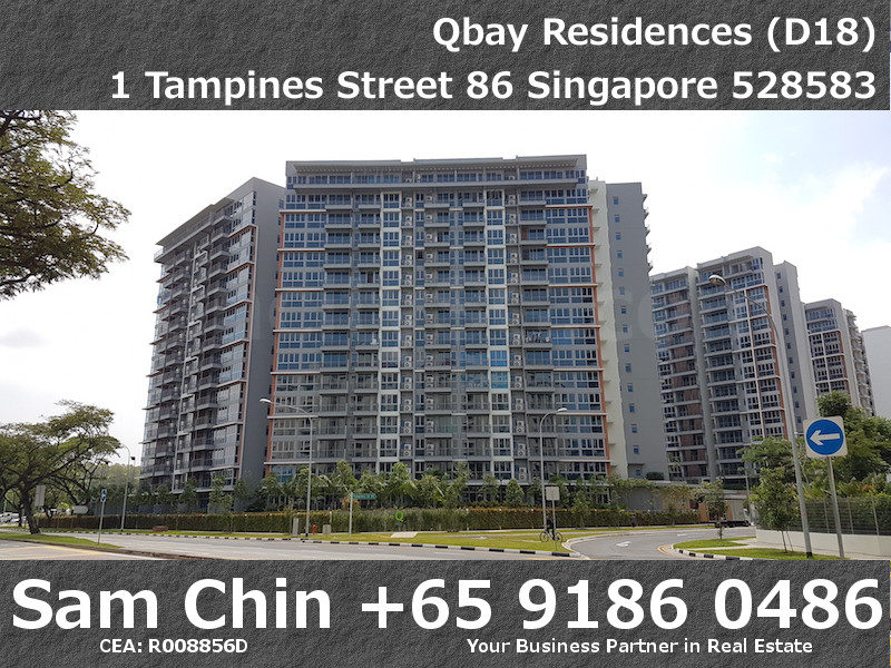 Qbay Residences – Facade – 2