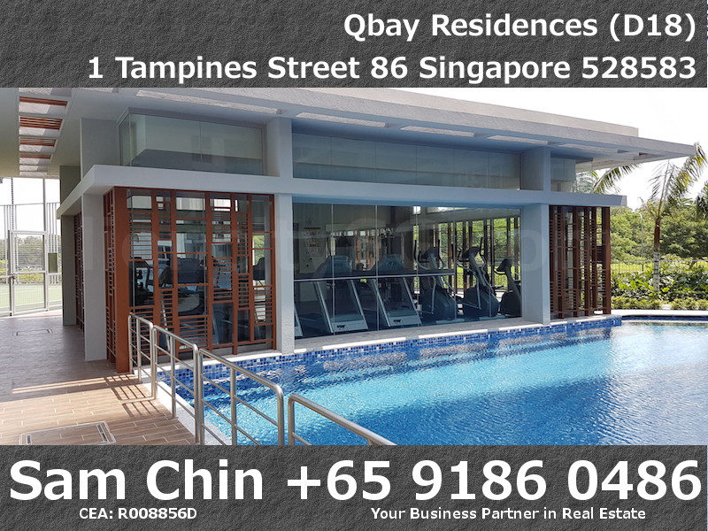 Qbay Residences – Facilities – L2 Gym