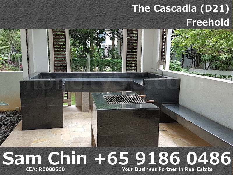 The Cascadia – Facilities –  BBQ