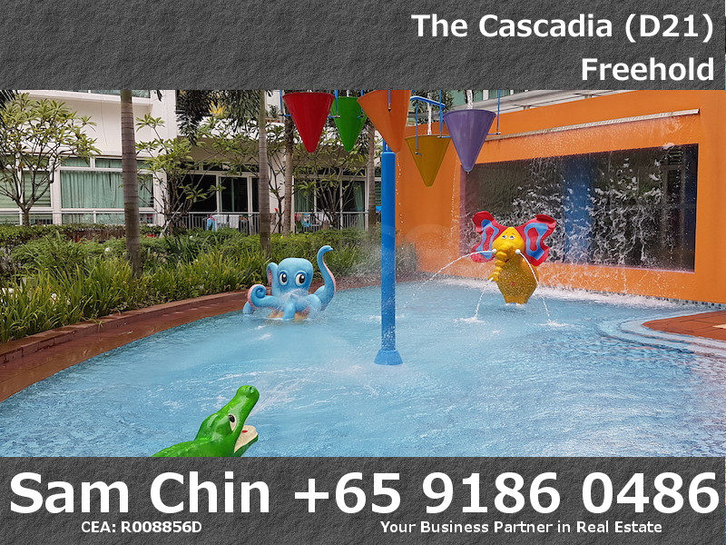 The Cascadia – Facilities – Kids Pool