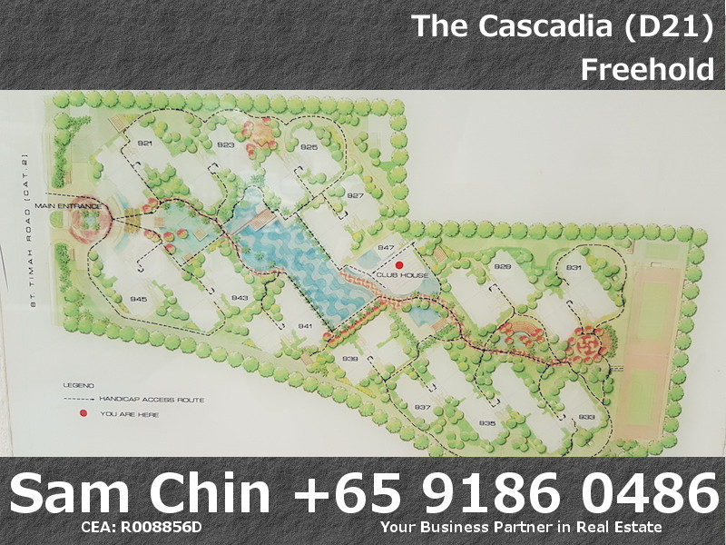 The Cascadia – Facilities – Site Plan