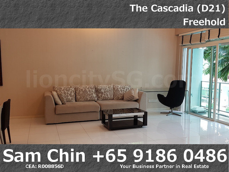 The Cascadia – S46 – 3 Bedroom – Living Area – 1