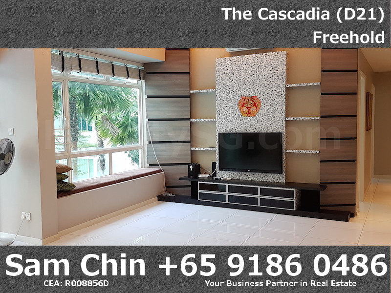 The Cascadia – S46 – 3 Bedroom – Living Area – 4